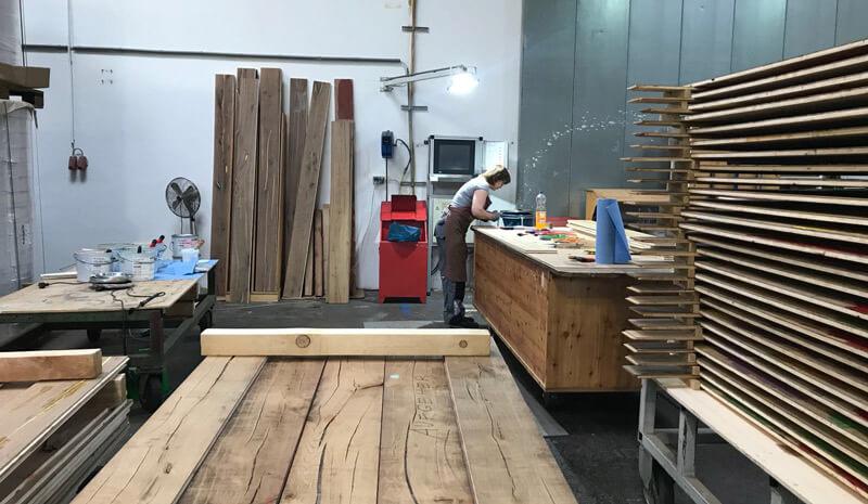 Proceso de fabricación en Admonter